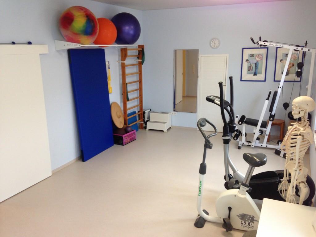 Raum für Behandlungen